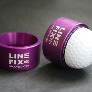 """""""LineFix360"""" Golf Ball Line Marker"""