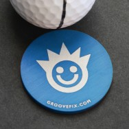 """Smile Face"" big ball marker"